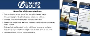Shazm Bolts has a sleek new look with improved functionality.